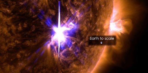 Largest Solar Flare In Over A Decade Causes Slight Disruption But Sparks Beautiful Auroras