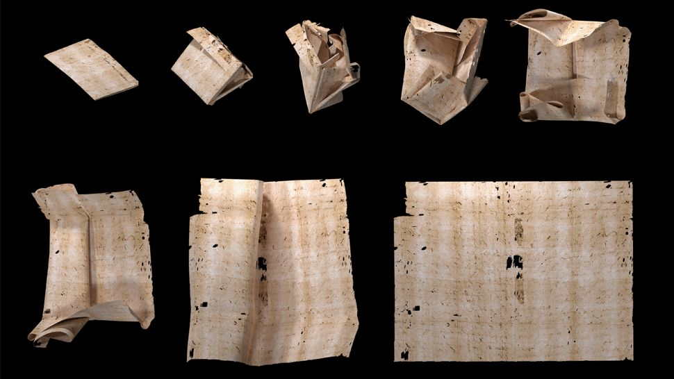 Researchers Read Sealed Renaissance-Era Letter Without Opening It!