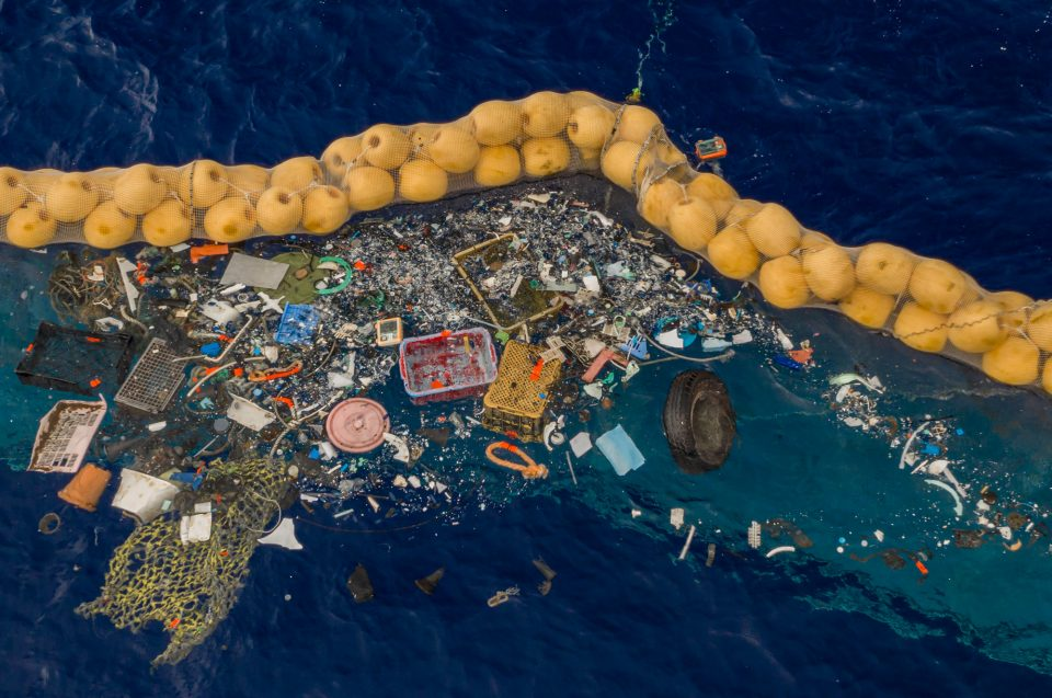 Boyan Slat's Ocean Cleanup Project Successfully Retrieves Plastic From The Great Pacific Garbage Patch