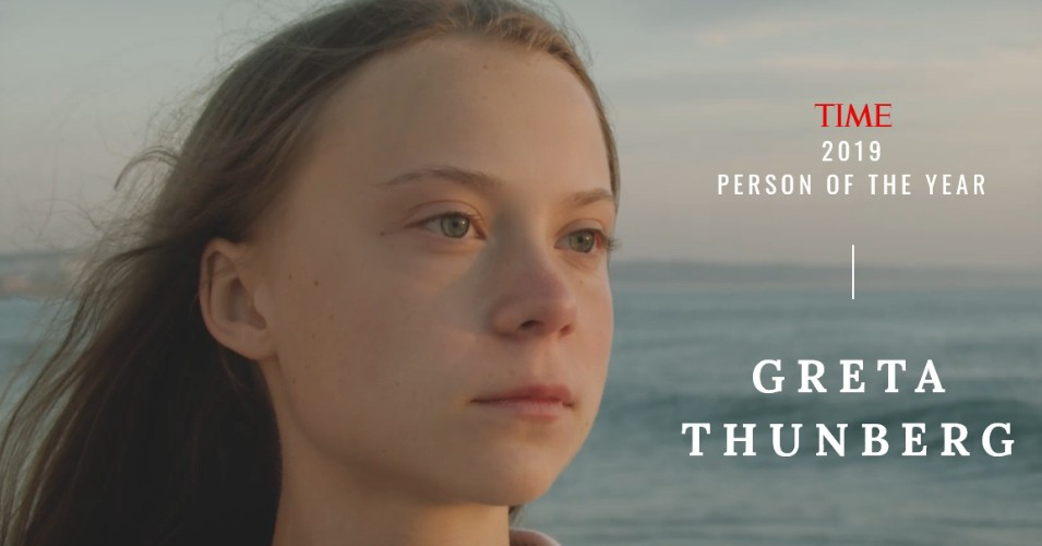 "Teen Climate Change Activist Greta Thunberg Is Time's Youngest Ever ""Person Of The Year"""