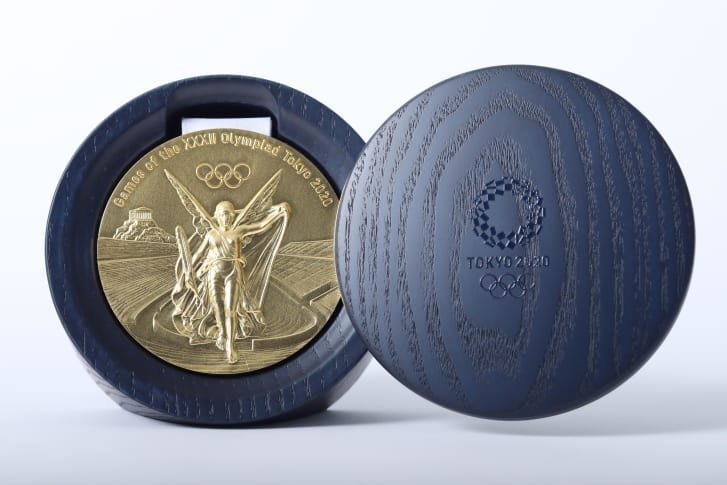 Tokyo 2020 Olympic Medals Are Made From Recycled Cell Phones And Gadgets