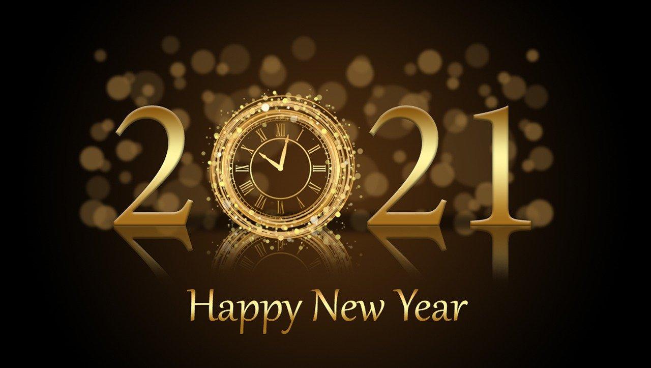 Goodbye 2020, Welcome 2021!