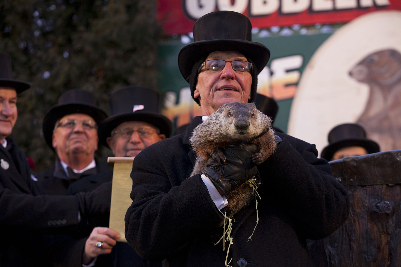 Legendary Groundhog Foresees Six More Weeks Of Winter!