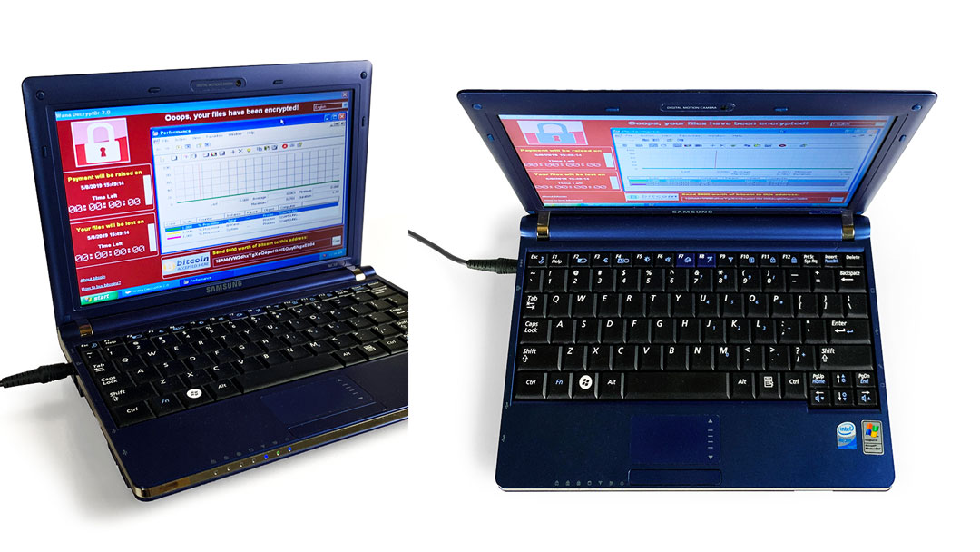 Malware Infected Laptop Purportedly Auctions For $1.35 Million