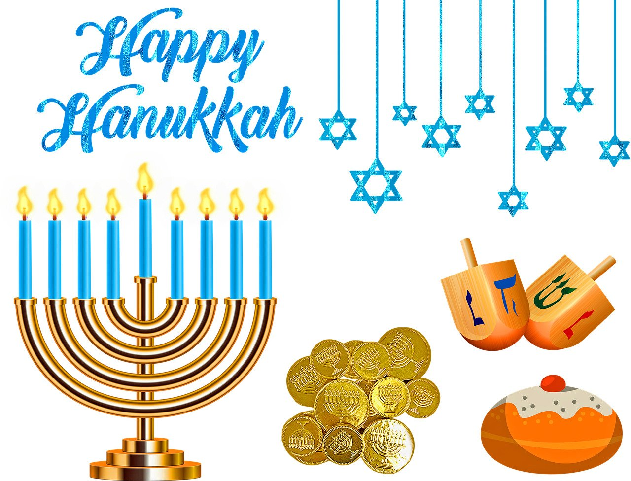 Hanukkah, The Jewish Festival Of Lights, Begins On December 22!