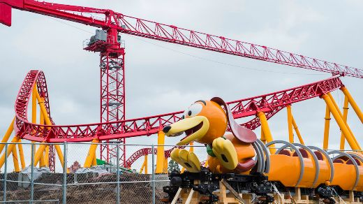 Disney Unveils Slinky Dog Dash Roller Coaster To Celebrate National Slinky Day