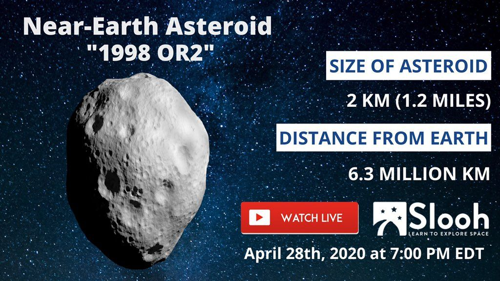 "Massive Asteroid With ""Face Mask"" Will Zoom Past Earth Tomorrow"